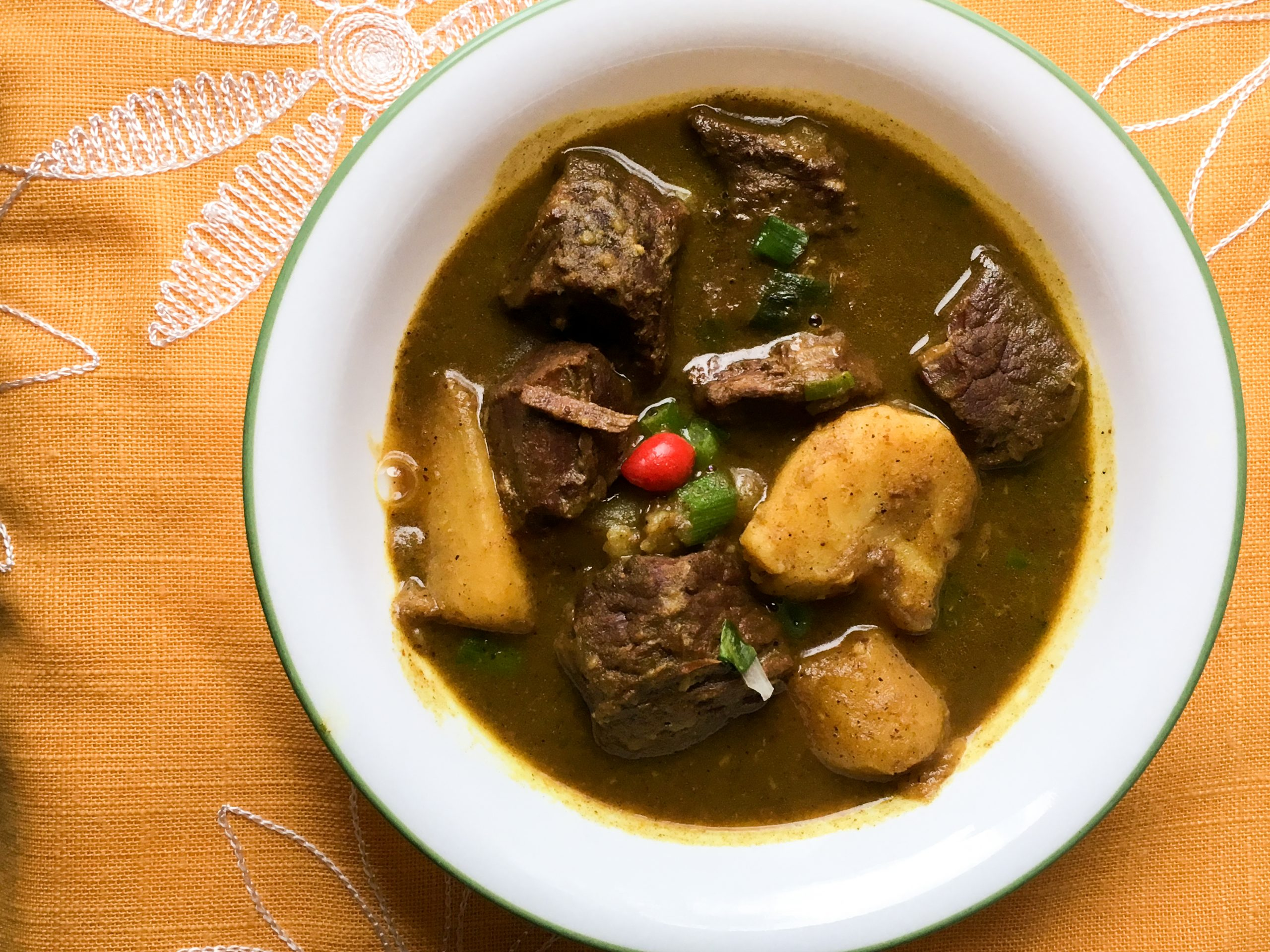 Beef curry - Alica's Pepperpot