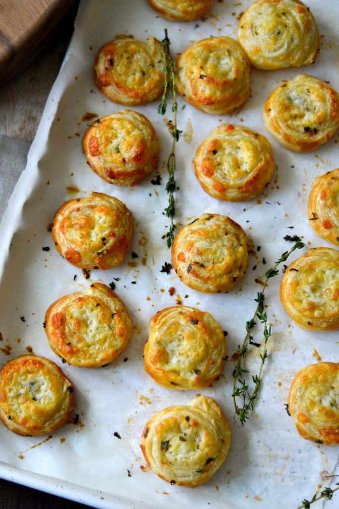 Cheese Pinwheels - Alicas Pepperpot