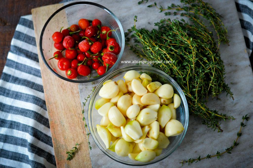 Guyanese Garlic Pork - Alica's Pepperpot