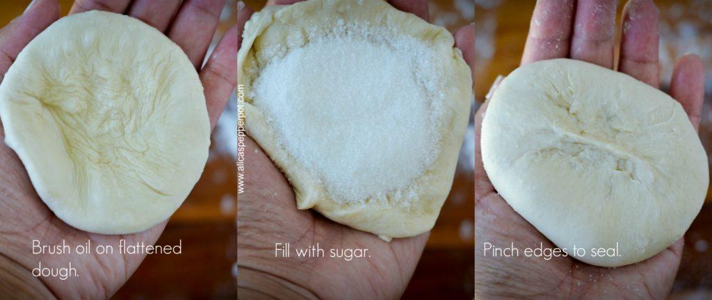Sugar Roti - Alica's Pepperpot