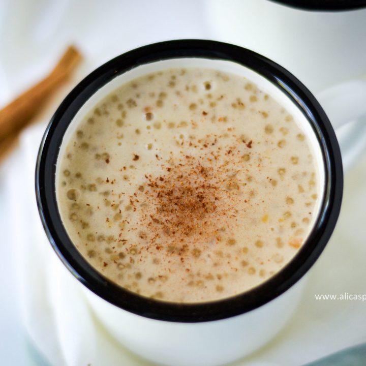 Guyanese sago porridge - Alica's Pepperpot