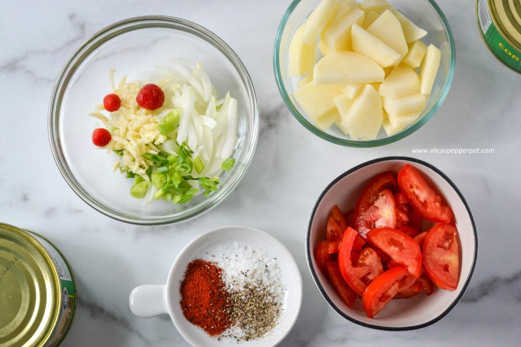 guyanese corned mutton ingredients alicaspepperpot