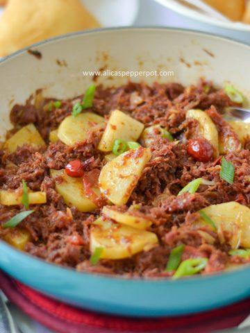 guyanese corned mutton alicaspepperpot
