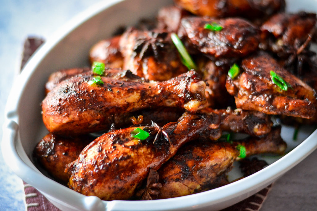 Chinese five spice chicken - Alica's Pepperpot